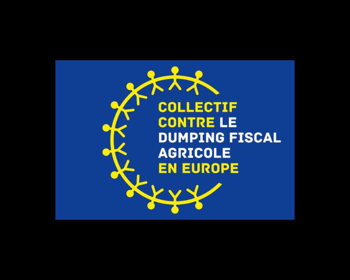Logo du collectif contre le dumping fiscal agricole en Europe
